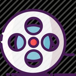 cinema, film, movie, multimedia, player, reel, video icon