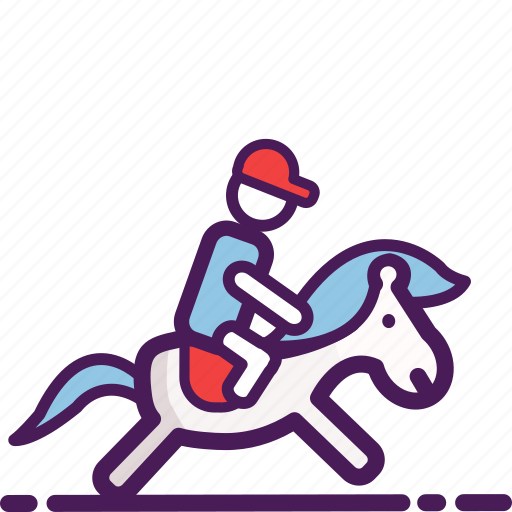 equastrianism, exercise, gaming, horse, playing, riding, sport icon