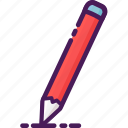 coloring, drawing, paper, pencil, skecthing, text, writing icon