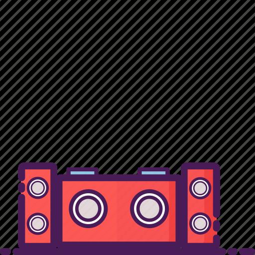bar, booth, celebration, club, dj, music, party icon