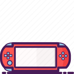 device, game, mobile, network, psp, technology, wireless icon