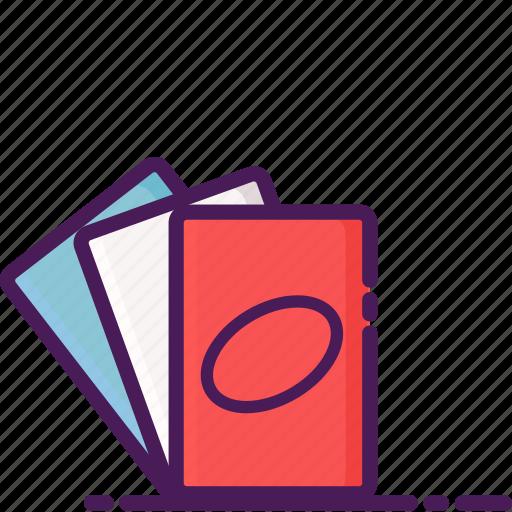 cards, casino, gambling, playing, uno icon