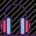 headphone, audio, multimedia, music