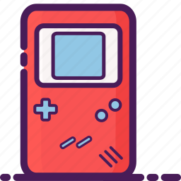 console, entertainment, game, gameboy icon