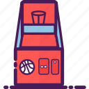 basketball, equipment, game, gaming, machine icon
