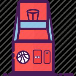 basketball, equipment, game, gaming, machine icon