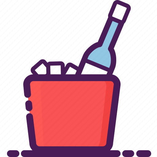 beer, bottle, bucket, celebration, dinner, drink, party icon