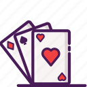 cards, casino, gambling, games, poker icon