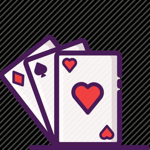 cards, casino, gambling, games, poker icon