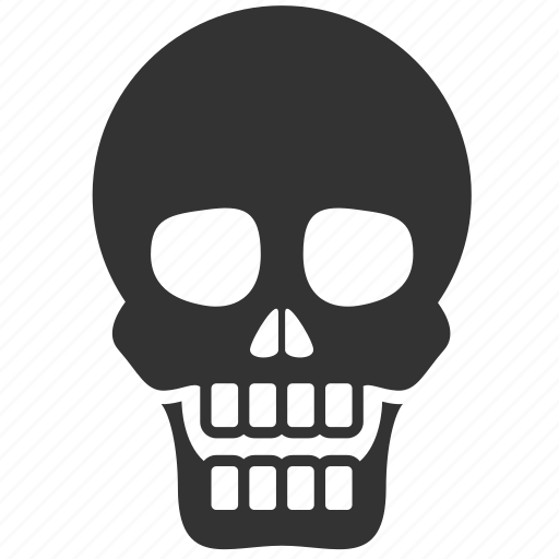 anatomy, dead, death, halloween, organ, skeleton, skull icon