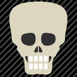 cripple, disease, distorted, head, medical, skelton, skull icon
