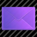 violet, envelope