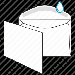 commercial, envelope, gummed, mail, post, send, sent icon