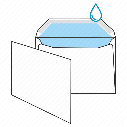communication, envelope, gummed, mail, post, send icon