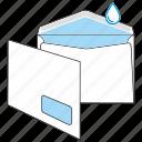 communication, envelope, gummed, kuvert, mail, post, send