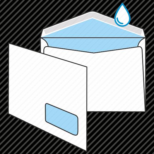 communication, envelope, gummed, kuvert, mail, post, send icon