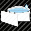 commercial, envelope, gummed, mail, mailoffice, post, send icon