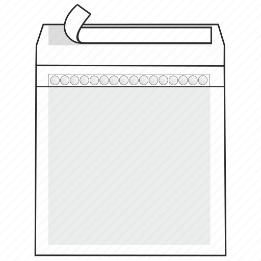 cd dvd, data, envelope, mail, peel and seal, post, safety icon