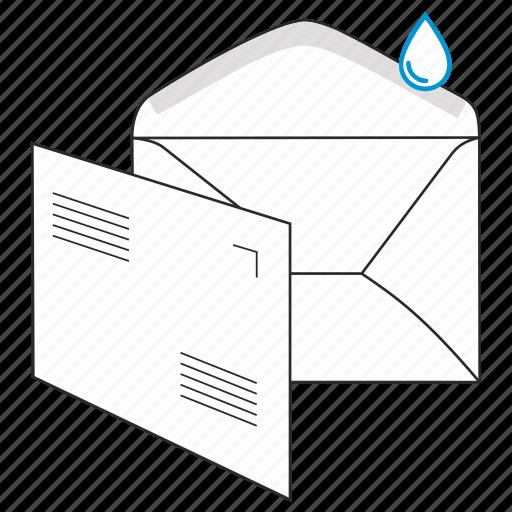 address, communication, envelope, gummed, mail, post, send icon