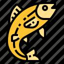 animal, aquatic, fish, food, sea