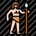 caveman, human, living, neanderthal, things