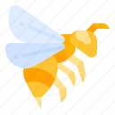 bee, bumble, honest, insect, wasp icon