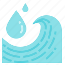 drop, energy, liquid, water