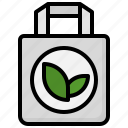 shopping, bag, recycle, ecology, recycled, and, environment icon