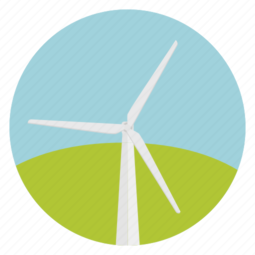 ecology, energy, mill, renewable, wind, wind power, windmill icon