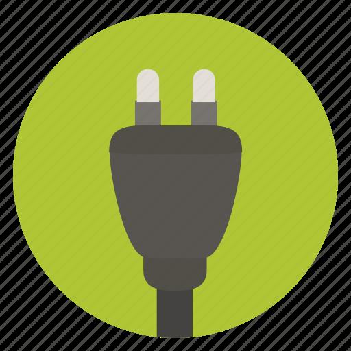 connector, ecology, energy, mains plug, plug, power, power plug icon