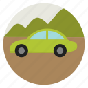 car, eco, ecology, electric, environment, friendly, pollution icon