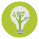 bulb, eco, environment, green, lamp, light, light bulb icon