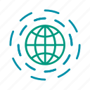 earth, global, globalization, web, worlwide icon