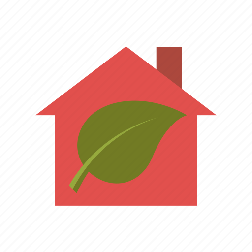 environment, home, house, low emission, sustainability icon