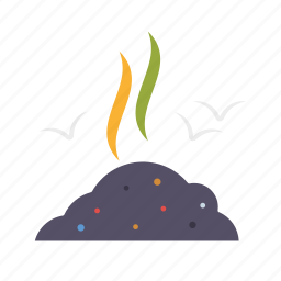 dirt, dump, environment, toxic, waste icon