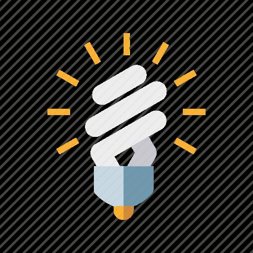 bulb, energy saving light bulb, environment, esl, lamp, light icon