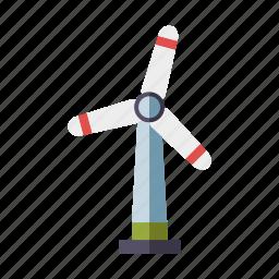 electricity, environment, power generation, renewable energy, sustainability, wind power, wind turbine icon