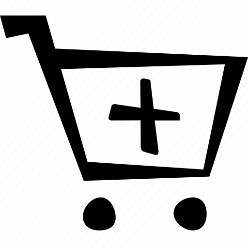 add, cart, e-commerce, plus, shopping icon