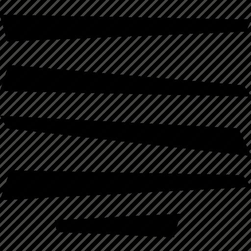 allign, center, line, text icon