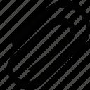 attach, attatchment, paper, paper clip, paperclio, paperclip icon