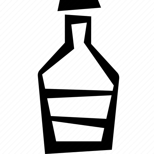 bottle, drink, water icon