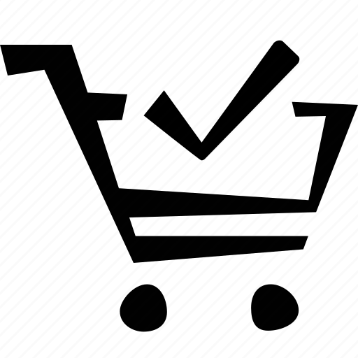 cart, check, e-commerce, shopping icon