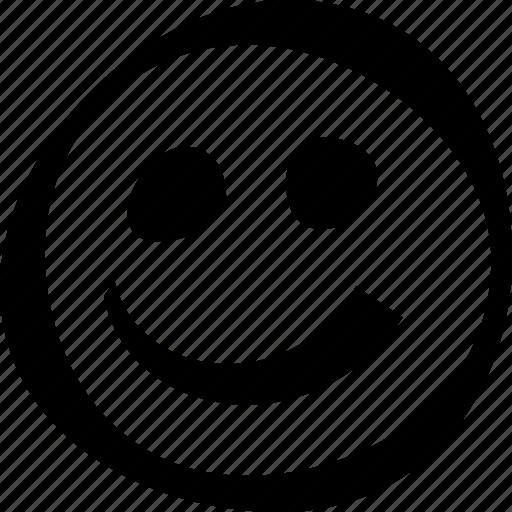 face, happy, smiley icon
