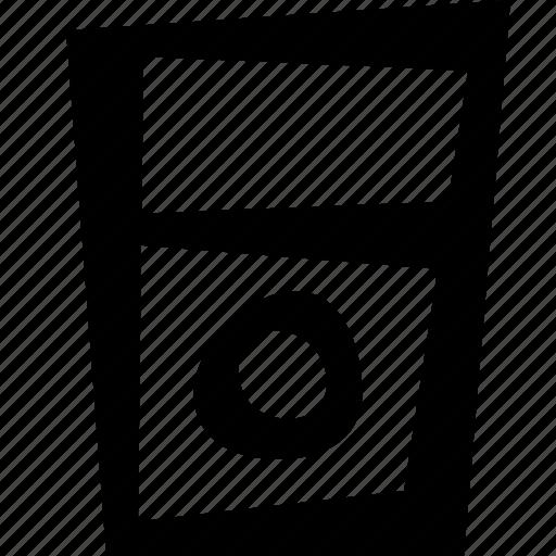 ipod, music, technology icon