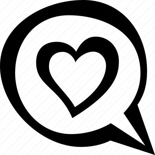 heart, love, message icon