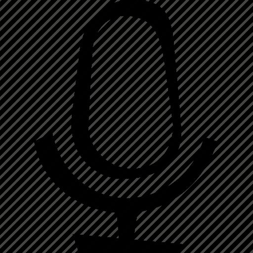 audio, media, microphone, multimedia, music, sound icon