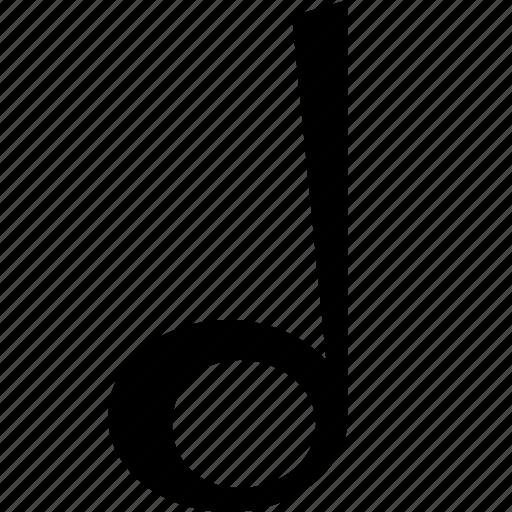music, note, sound icon