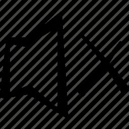 cross, music, mute, sound icon