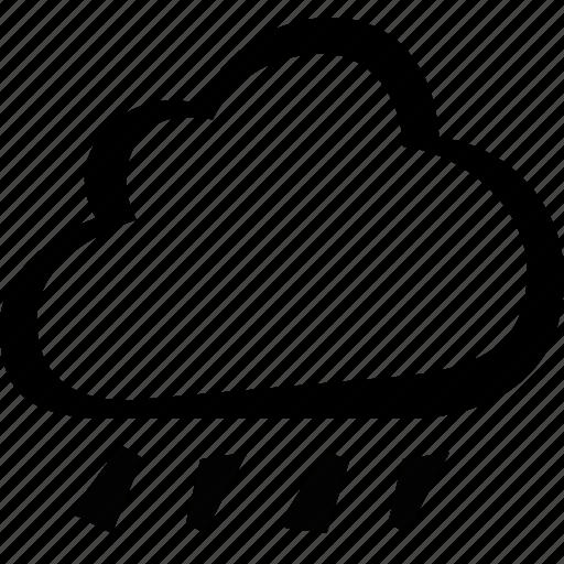 cloud, rain, storm, weather icon