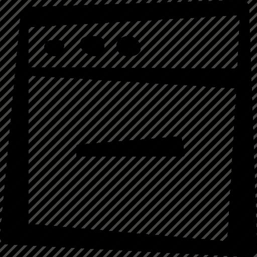 browser, remove, window icon